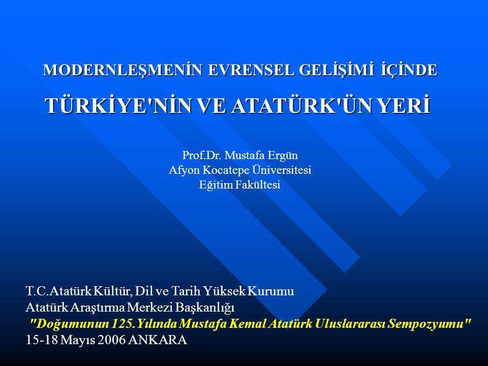 T.C.Atatürk Kültür, Dil ve Tarih Yüksek Kurumu Atatürk Araştırma Merkezi Başkanlığı