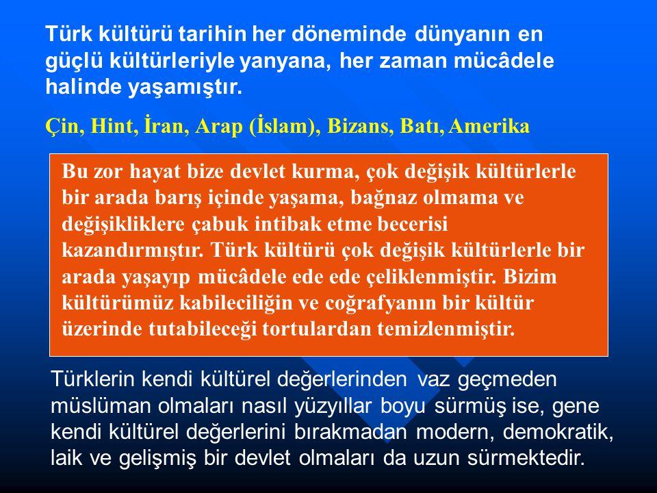 Türkiye Anadoluya yerleştiğinden beri, Batılıdır.