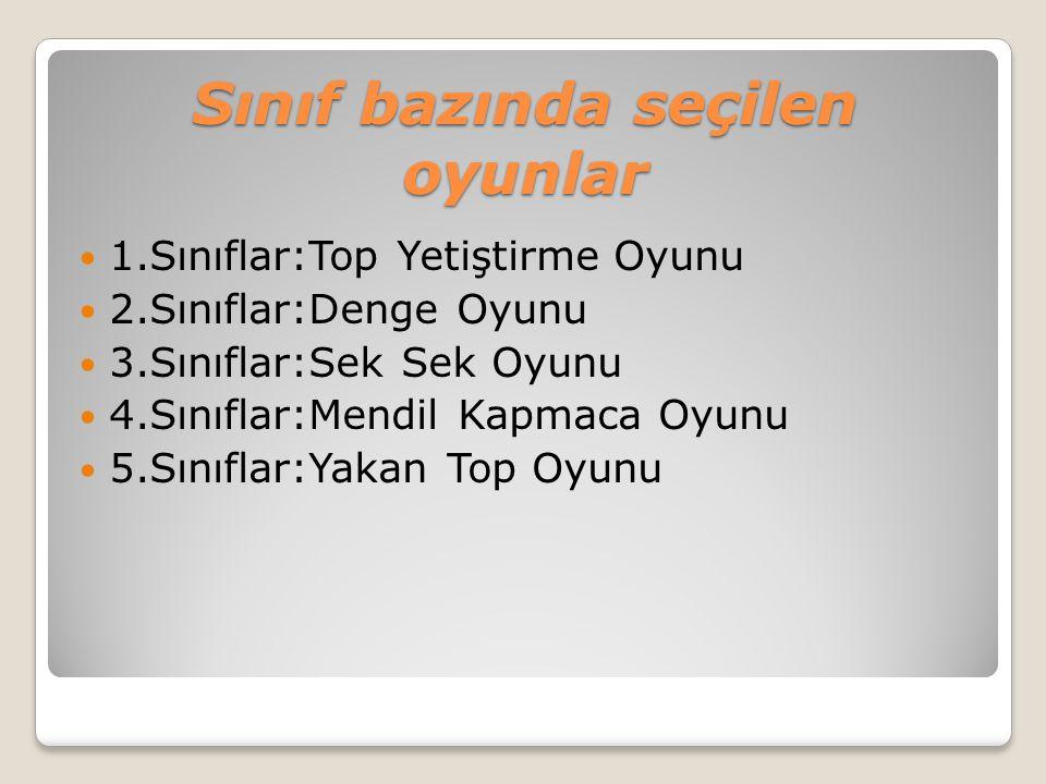 Kaynaklar Türkiye Geleneksel Çocuk Oyunları Federasyonu Çocuk Oyunları Kitabı (MEB İlköğretim Genel Müdürlüğünce hazırlanan kılavuz kitap )