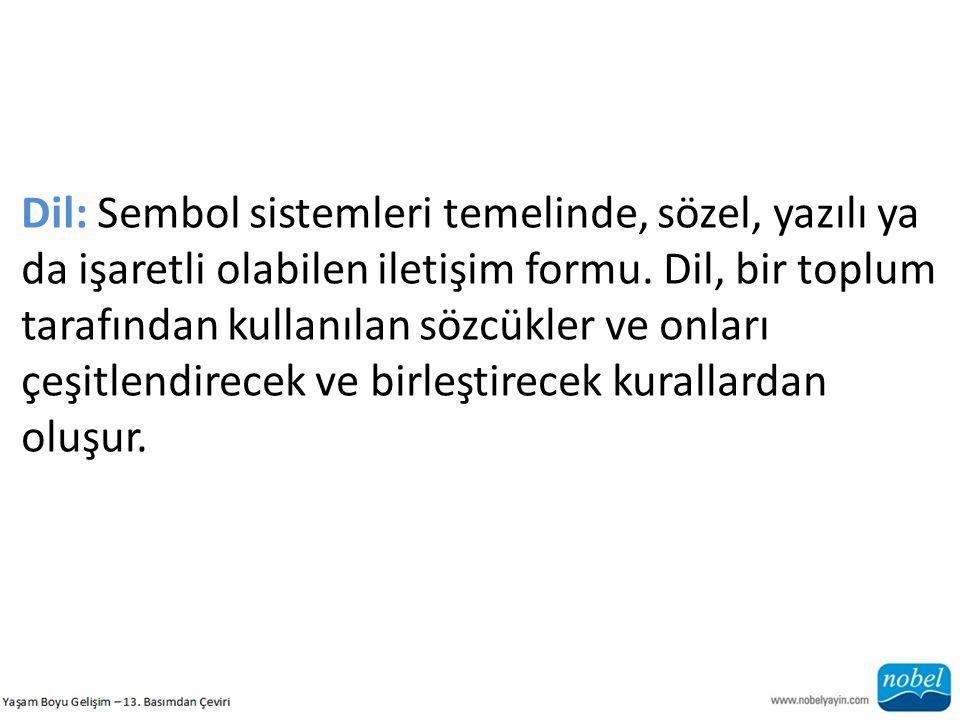 b) Dil Kural Sistemleri 19.