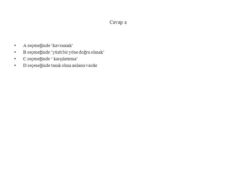 Aşağıdaki cümlelerin hangisinde 'büyük ' sözcüğü 'boyutları benzerliğinden fazla olan' anlamında kullanımmıştır.