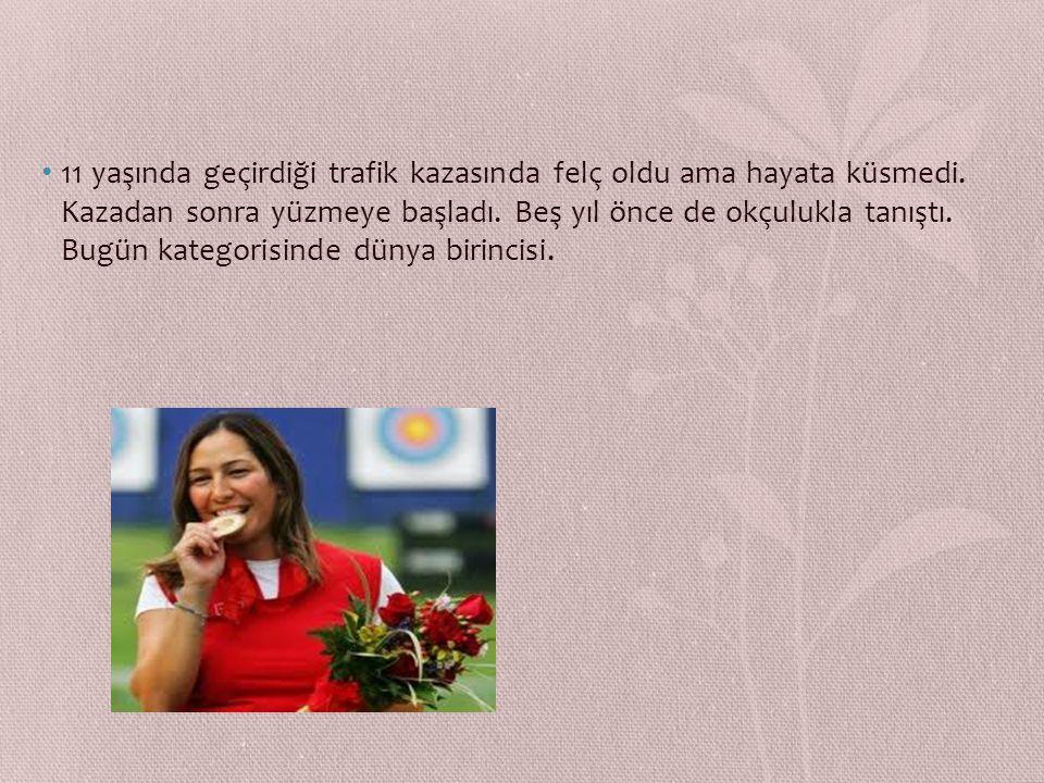 GİZEM GİRİŞMEN 1981 Ankara doğumlu. İlkokulu bitirdiği yaz ailece bir trafik kazası geçirdi. O kazadan sonra da T5 seviyesinde omurilik felçlisi oldu.
