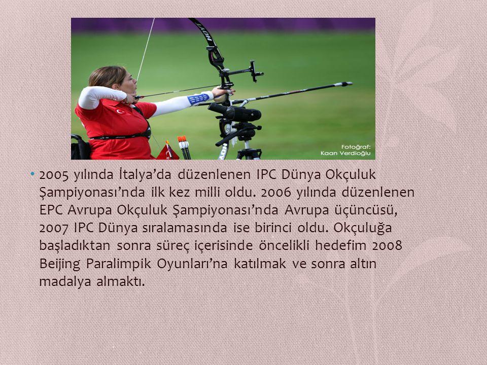 Okçulukta hem dünya hem olimpiyat şampiyonluğu var. 29 yaşındaki milli sporcu geçtiğimiz günlerde Laureus Dünya Spor Akademisi tarafından 'Yılın Engel
