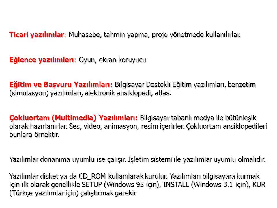 Programlama Dilleri Assembly Fortran Basic Visual BasicPascal C C ++ Borland DelphiKyLix PHPPerl.NET Java