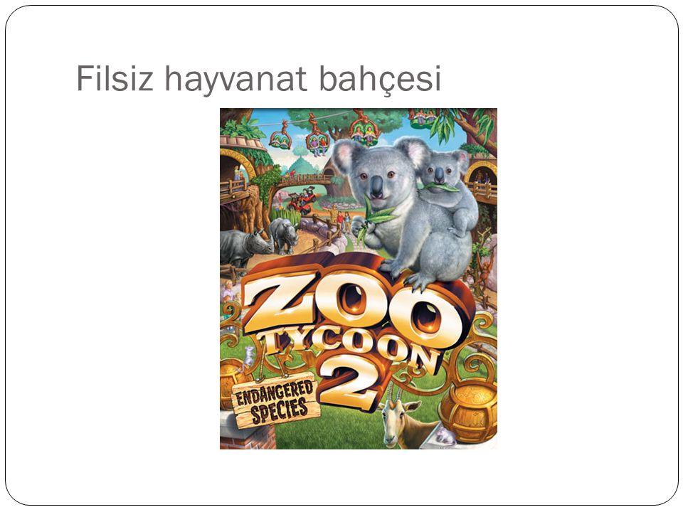 Filsiz hayvanat bahçesi