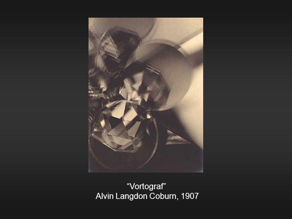 """Vortograf"" Alvin Langdon Coburn, 1907"