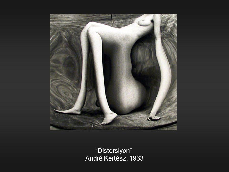 """""""Distorsiyon"""" André Kertész, 1933"""