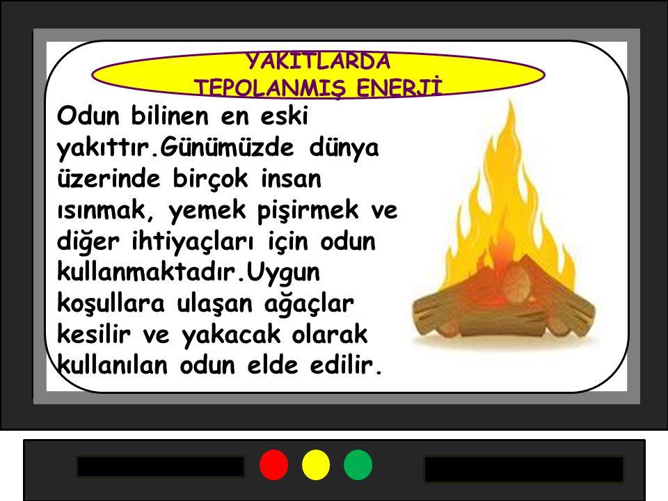 Odun bilinen en eski yakıttır.Günümüzde dünya üzerinde birçok insan ısınmak, yemek pişirmek ve diğer ihtiyaçları için odun kullanmaktadır.Uygun koşull