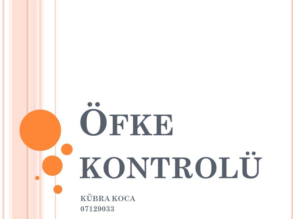 Ö FKE KONTROLÜ KÜBRA KOCA 07129033