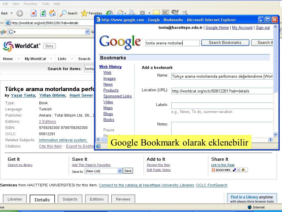 SLAYT 17BBY220 Google Bookmark olarak eklenebilir