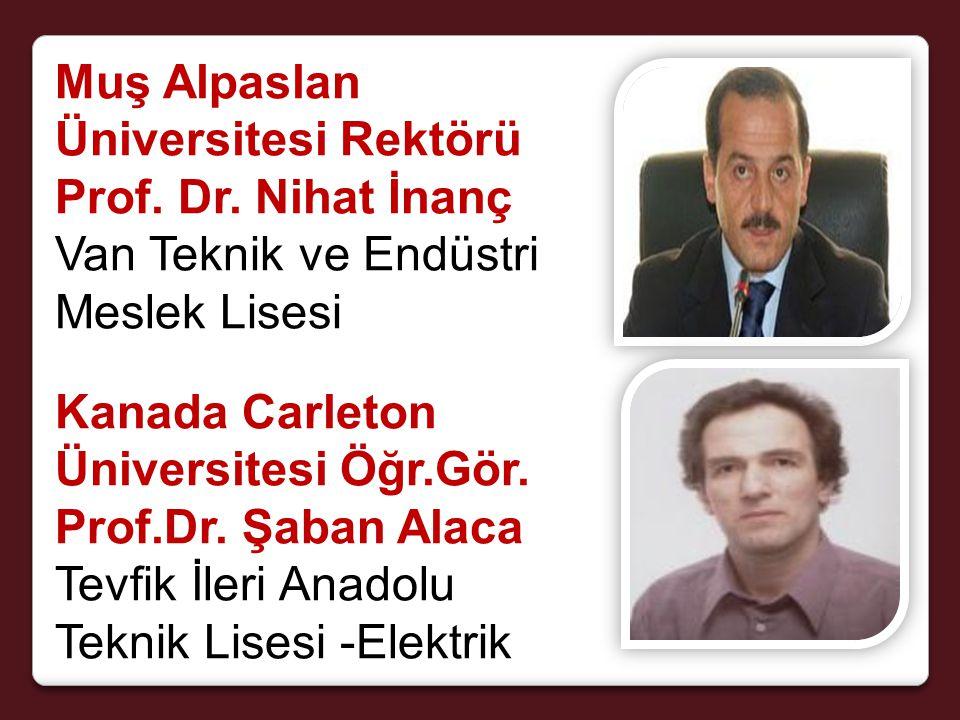 Muş Alpaslan Üniversitesi Rektörü Prof. Dr.