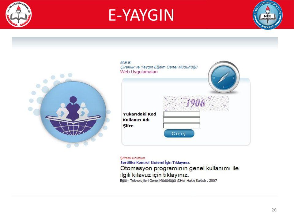 E-YAYGIN 26