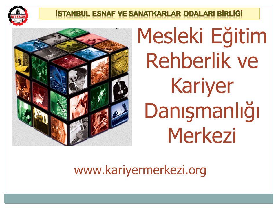 İSTKA desteği ile, Proje lideri olarak İstanbul Esnaf ve Sanatkârlar Odaları Birliği ve proje ortağı İstanbul Bilumum Madeni Eşya Esnaf ve Sanatkârları Odaları Birliği bünyesinde iki Mesleki Eğitim Rehberlik ve Kariyer Danışmanlığı Merkezi kurulacaktır.
