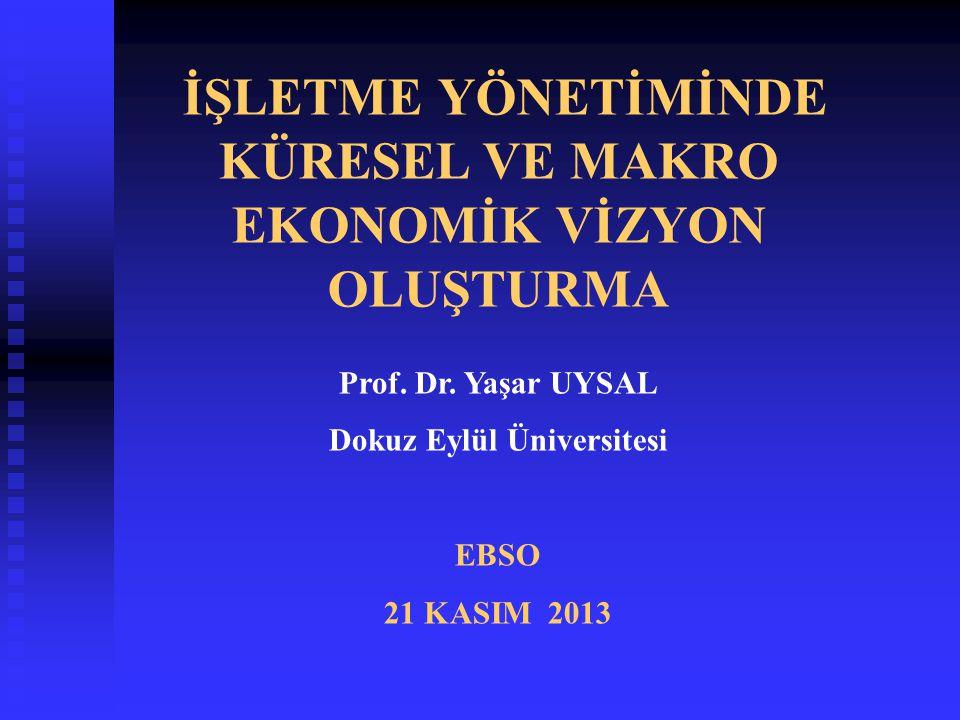 2014 YILINDA TÜRKİYE EKONOMİSİ A- ORTA VADELİ PROGAM NE SÖYLÜYOR.