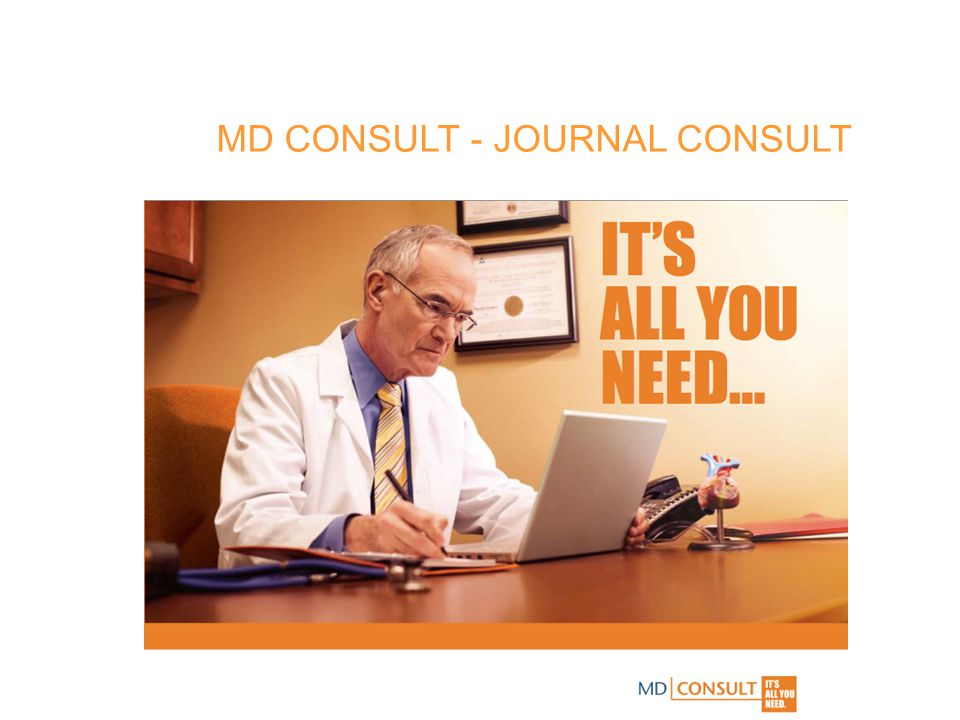MD CONSULT - JOURNAL CONSULT