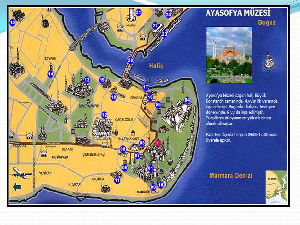 Bizans dönemindeki Ayasofya nın kesiti