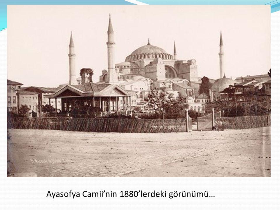 Ayasofya, 1910-1915