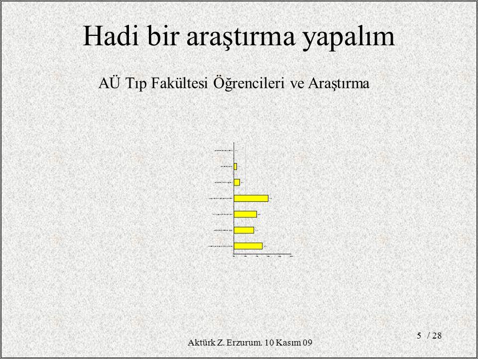 İstatistik. Frekans Dağılımları / 2826