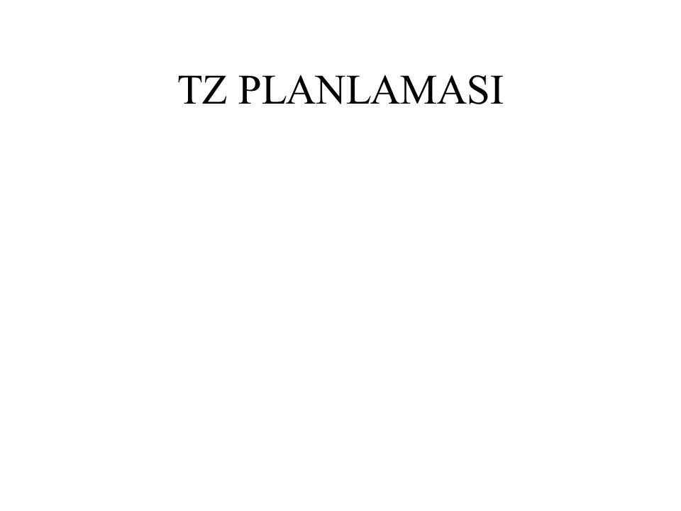 TZ PLANLAMASI