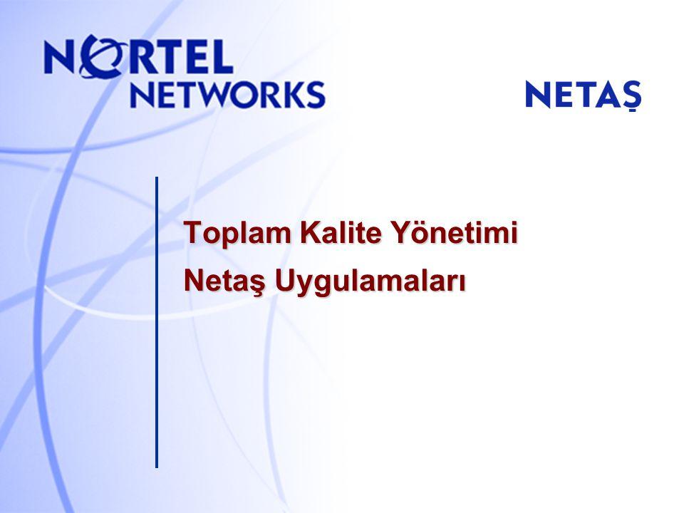 NETAŞ TKY - 10 ISO 9000:2000 MÜŞTERİ ANKETİ