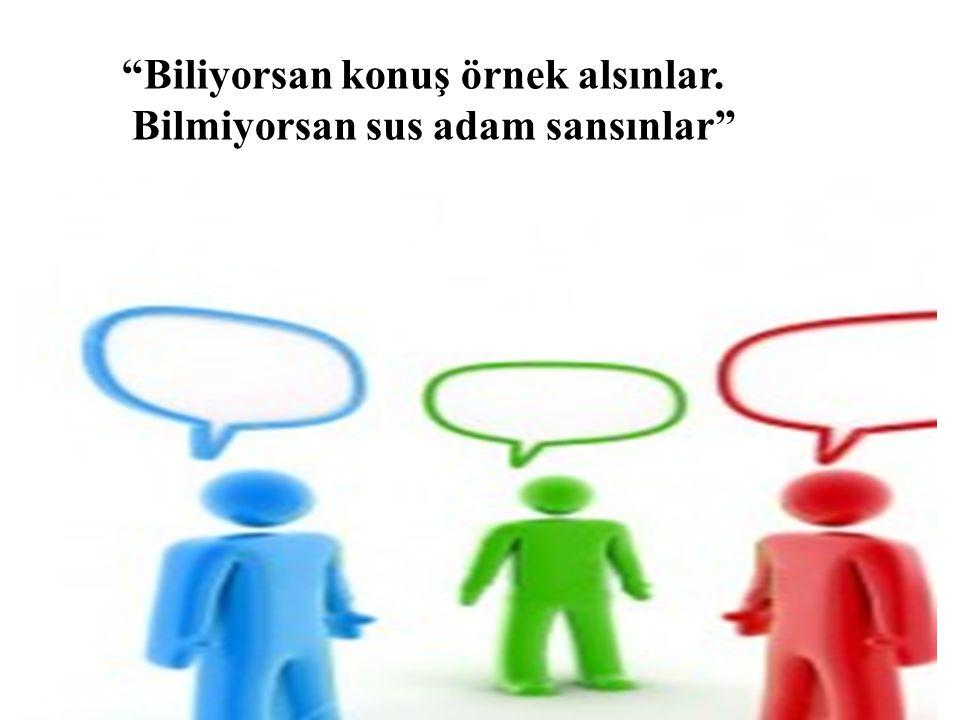 Kelimelerin seçilmesinde ve söyleniş tarzında ölçülü olmak gerektiği gibi, konuşmanın süresinde de ölçüyü kaçırmamak gerekmektedir.