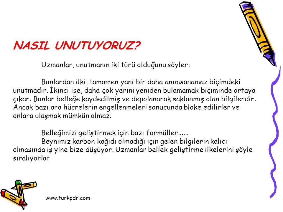 www.turkpdr.com NASIL UNUTUYORUZ.