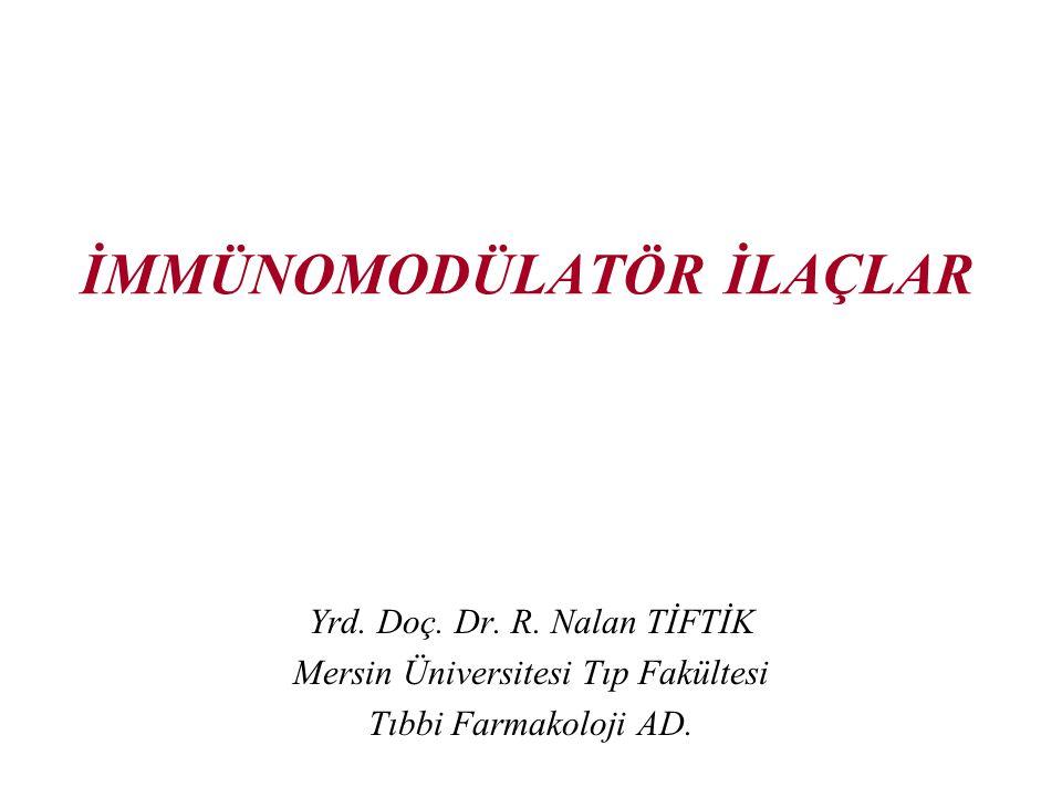 12 Siklofosfamid Alkilleyici bir antineoplastik ilaçtır.