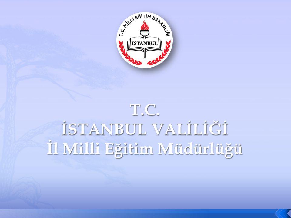 2 İSTANBUL MİLLİ EĞİTİM MÜDÜRLÜĞÜ VELİ ORYANTASYON PROGRAMI 1 4 -17EYLÜL2010