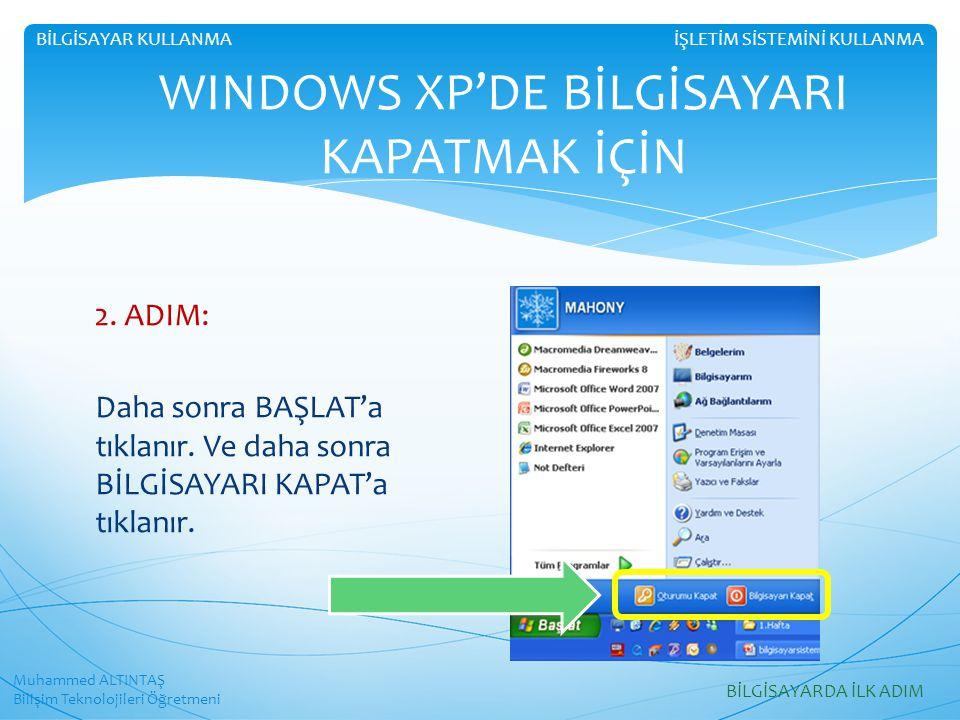Muhammed ALTINTAŞ Bilişim Teknolojileri Öğretmeni İŞLETİM SİSTEMİNİ KULLANMABİLGİSAYAR KULLANMA WINDOWS VISTA ve 7'DE TEMA  Windows birçok temayla birlikte gelir.