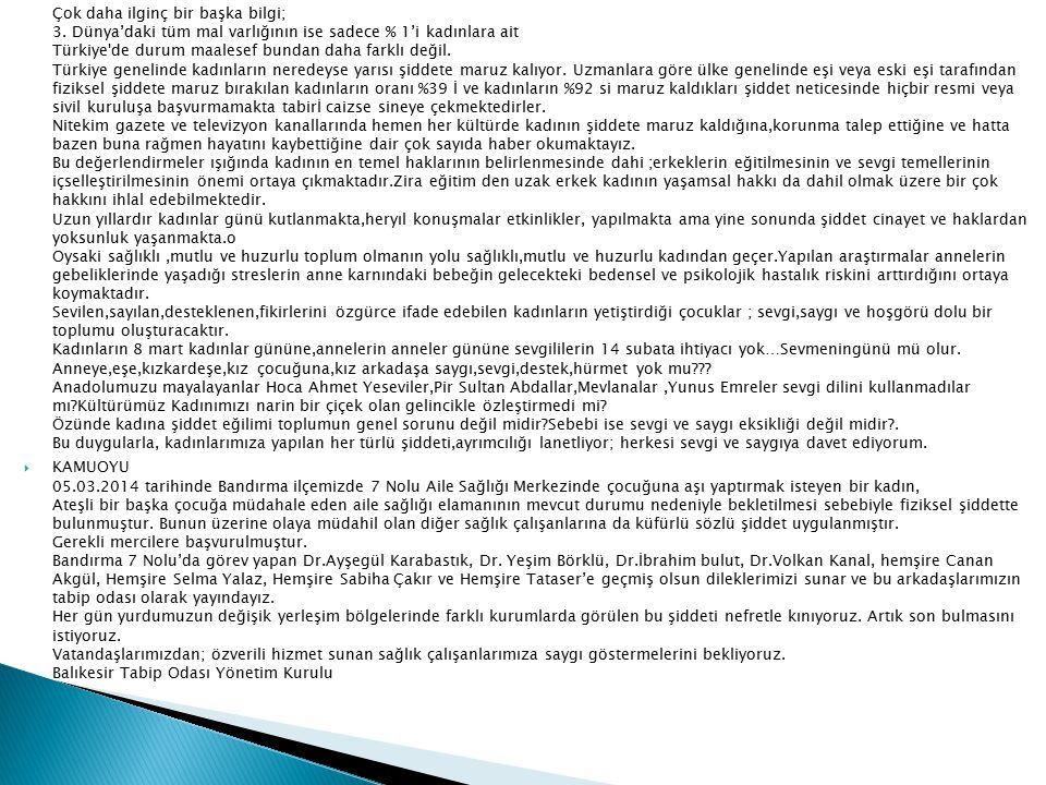 1.Basamak Hipertansiyon konulu Konferansımız, Balıkesir Devlet Hastanesi Kardiyoloji Uzmanı Dr.