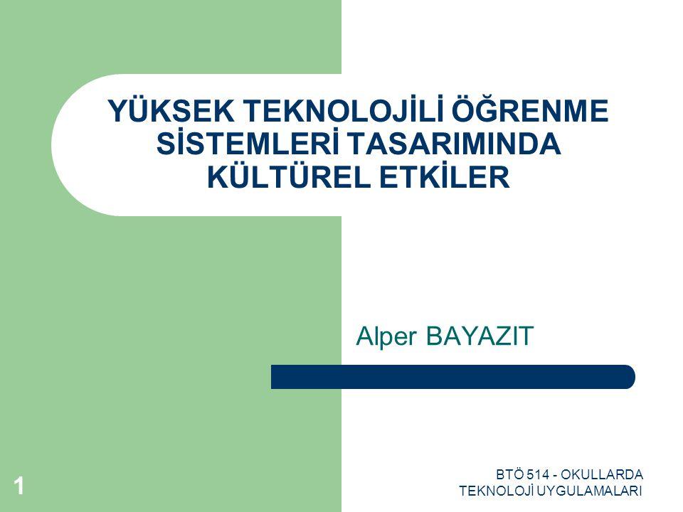 BTÖ 514 - OKULLARDA TEKNOLOJİ UYGULAMALARI 12 SİNGAPURUN KÜLTÜREL YAPISI Değişen dünya ekonomisine ayak uydurmak için reformlar yapıldı.