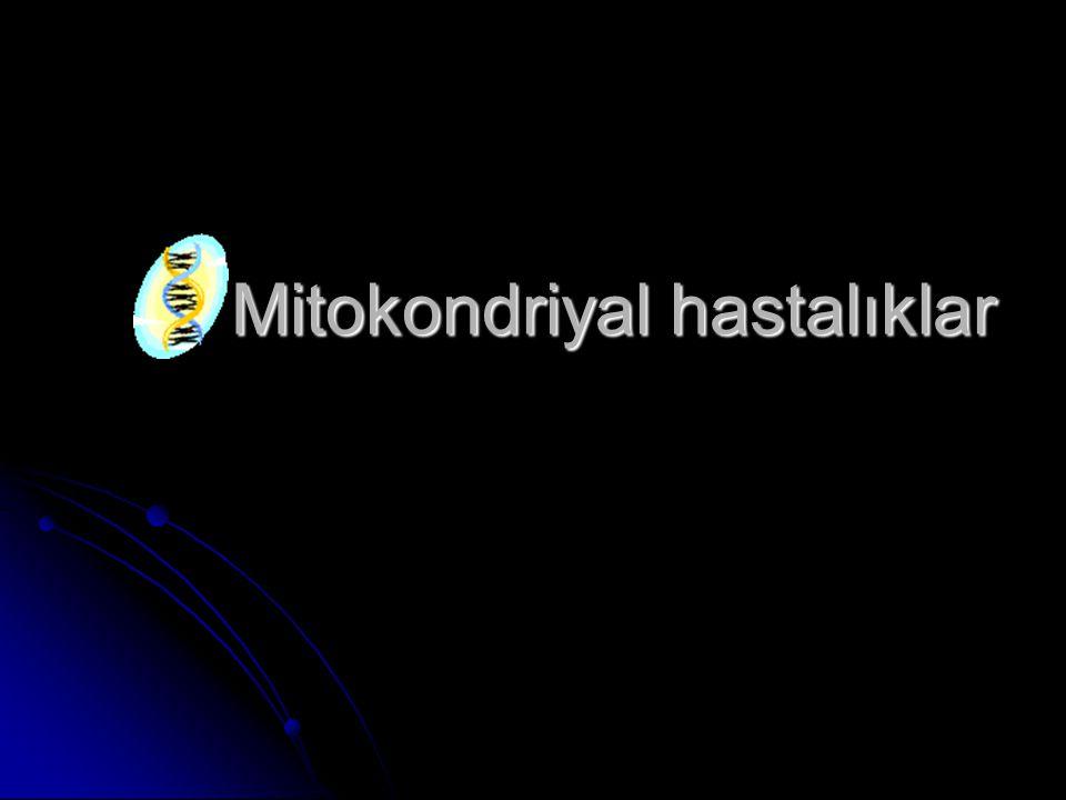 Tarihçe Tarihçe Mitokondri Mitokondri Mitokondriyal genetik Mitokondriyal genetik Mitokondriyal hastalıklar Mitokondriyal hastalıklar mtDNA mtDNA nDNA nDNA Tanı Tanı Neredeyiz.