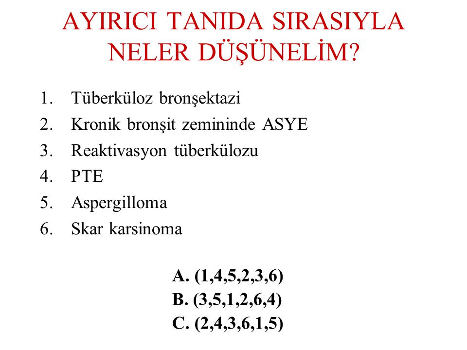 AYIRICI TANIDA SIRASIYLA NELER DÜŞÜNELİM.
