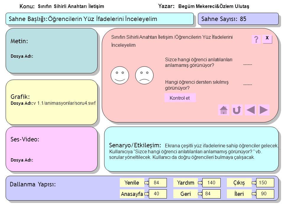Yazar: Konu: Metin: Dosya Adı: Metin: Dosya Adı: Ses-Video: Dosya Adı: Ses-Video: Dosya Adı: Grafik: Dosya Adı: v 1.1/animasyonlar/soru4.swf Grafik: D
