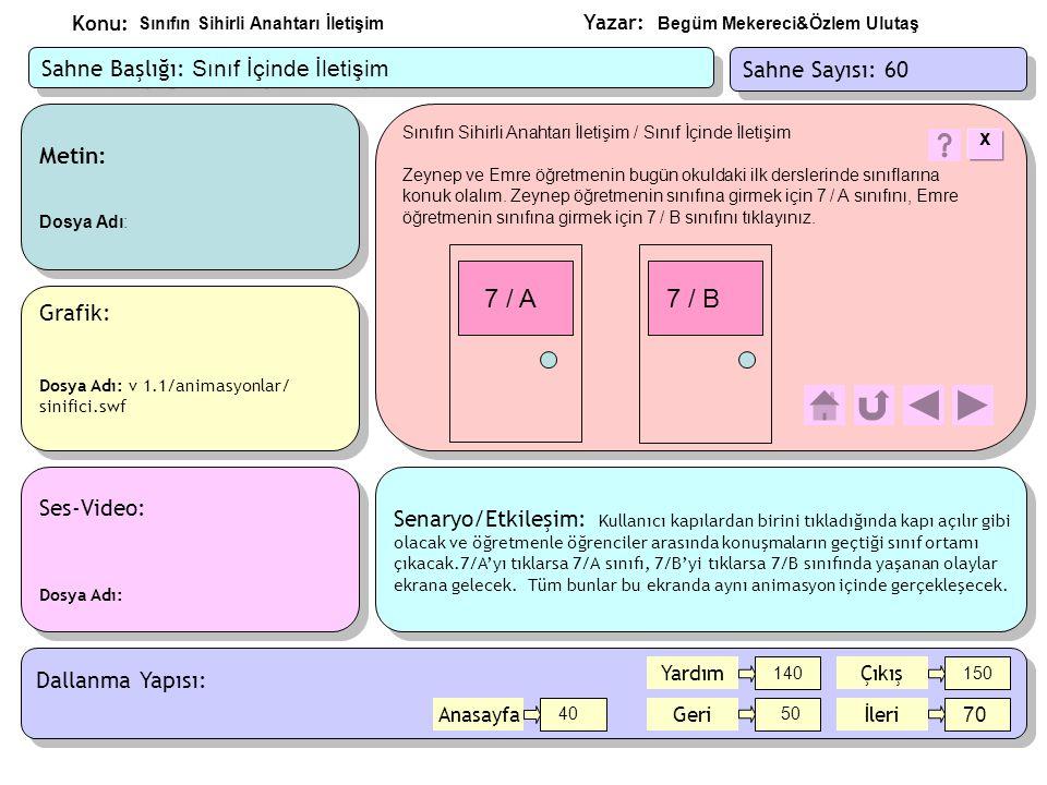 Yazar: Konu: Metin: Öğretmenlerin konuşmaları Dosya Adı: Metin: Öğretmenlerin konuşmaları Dosya Adı: Ses-Video: Dosya Adı: Ses-Video: Dosya Adı: Grafik: Özetle ilgili resim Dosya Adı: v 1.1/resimler/icerik.jpeg Grafik: Özetle ilgili resim Dosya Adı: v 1.1/resimler/icerik.jpeg Sınıfın Sihirli Anahtarı İletişim / Bu yazılımda neler öğrendiniz.