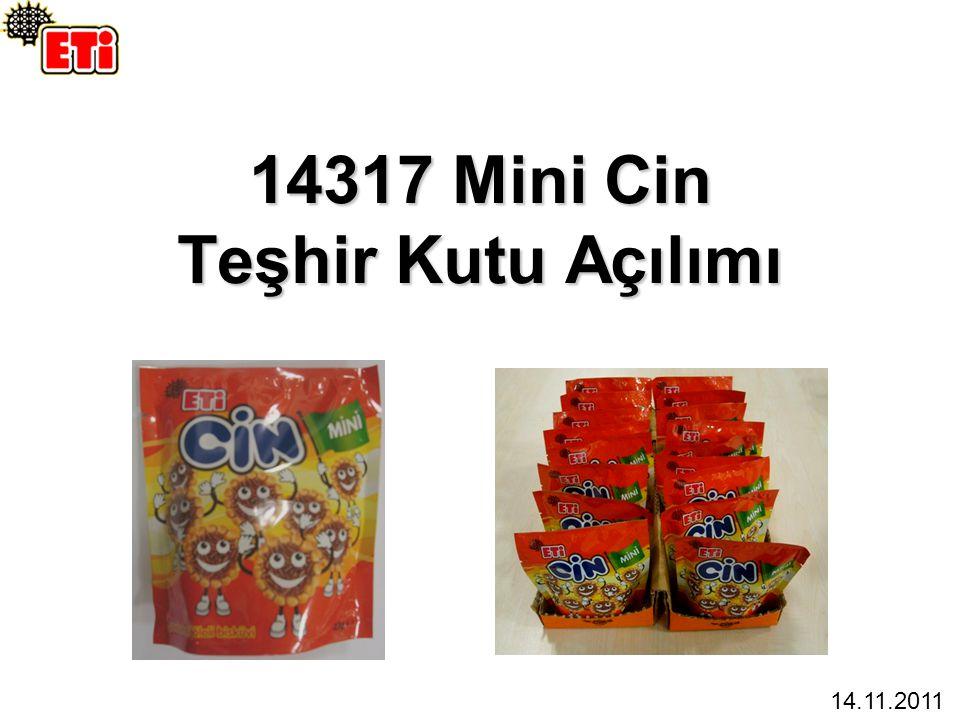 14317 Mini Cin Teşhir Kutu Açılımı 14.11.2011