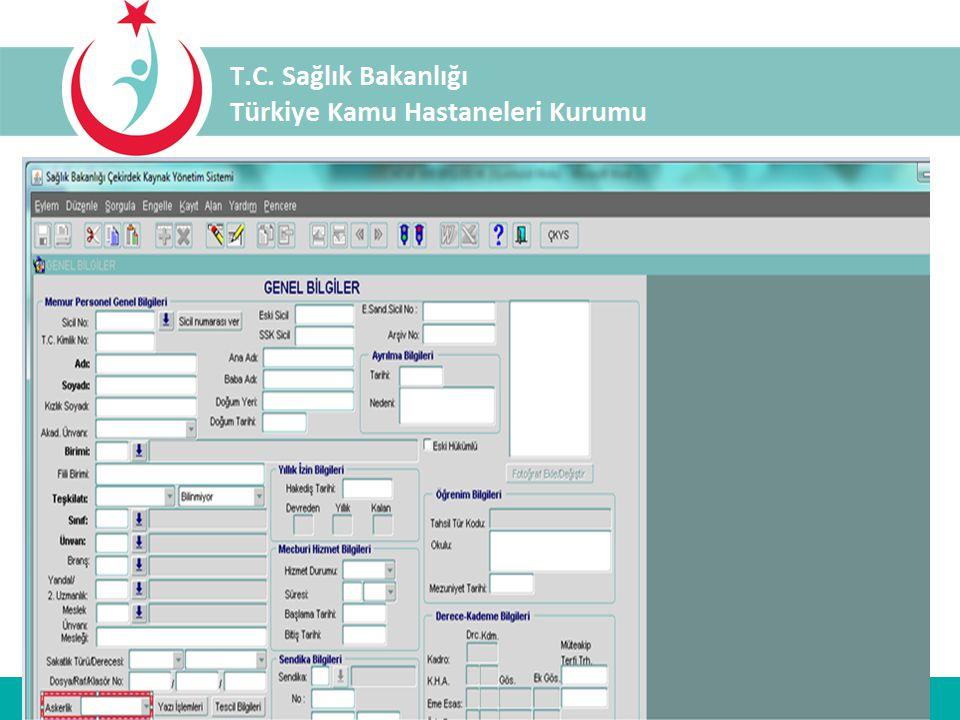 Personel kimlik bilgilerinin; ÇKYS-İKYS sicil ana menüsü altında yer alan kimlik bilgileri bölümünden NVİ nüfus kayıt sisteminden aktarılması gerekmek