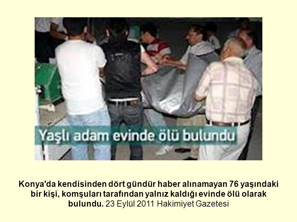 Türkiye'de yaşlı sağlığı hizmetlerinin organizasyonu ?