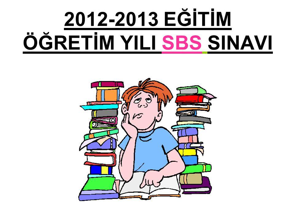 Şubat 2011- 2641 Millî Eğitim Bakanlığı Tebliğler Dergisi 2012-2013 öğretim yılından itibaren 8.