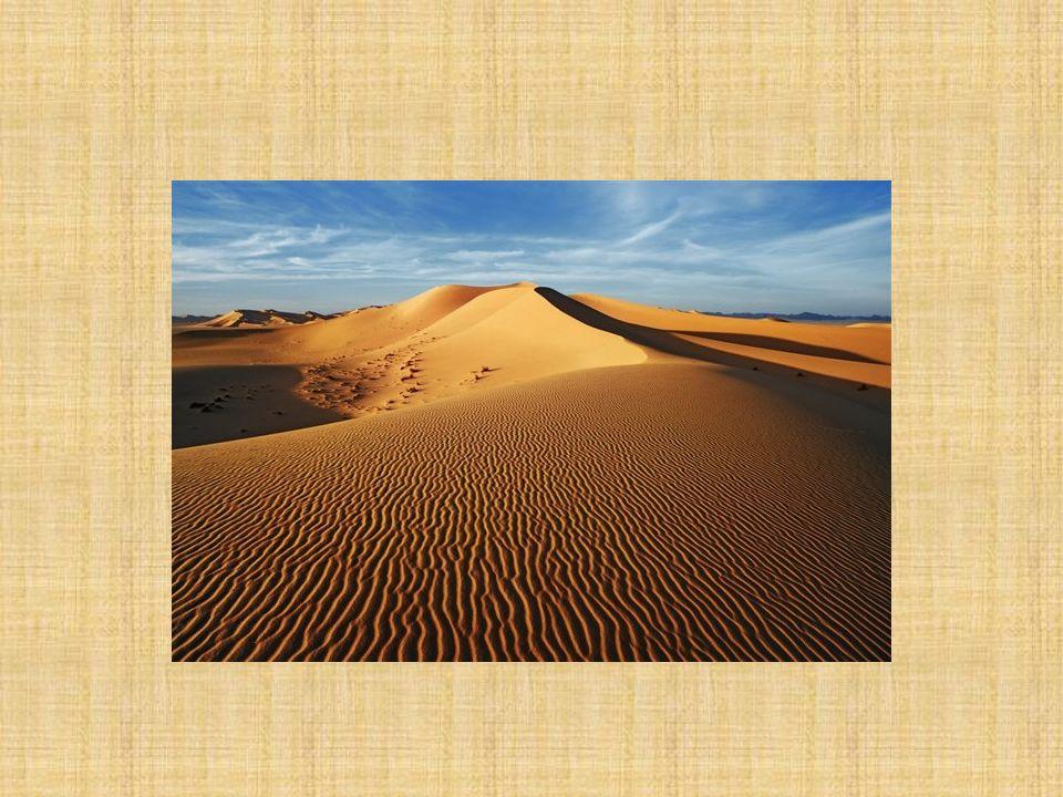 ÇÖL : Çöl, yıllık 250 mm den az yağış alan bölgeler için kullanılan bir tabirdir.