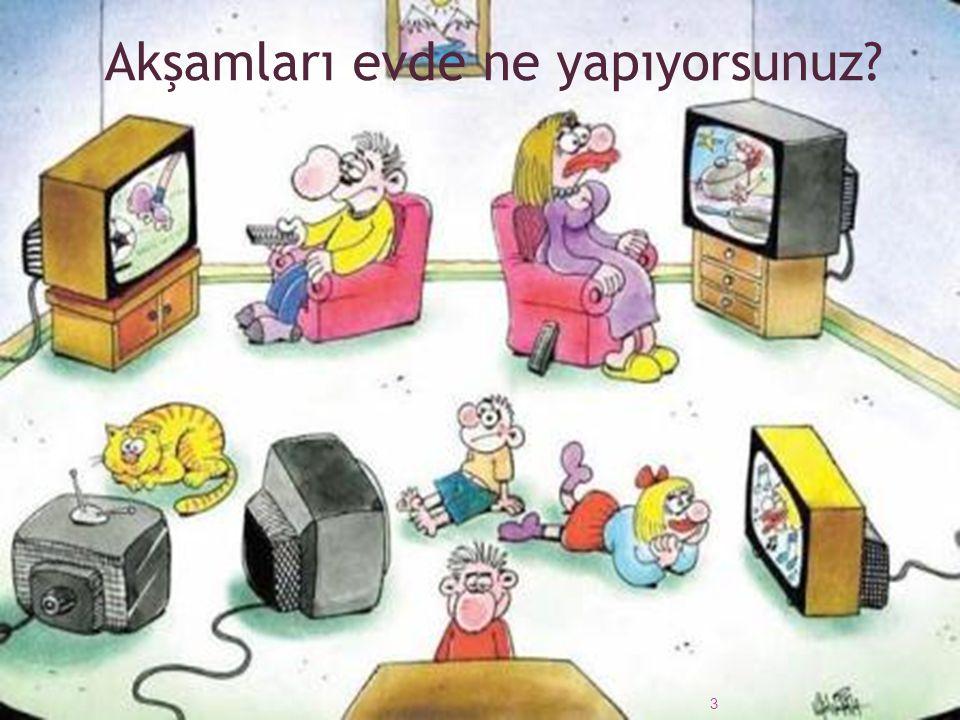 Çocukların günde kaç saat televizyon izlediği belirlendikten sonra bu süre aşamalı şekilde azaltma yoluna gidilebilir.