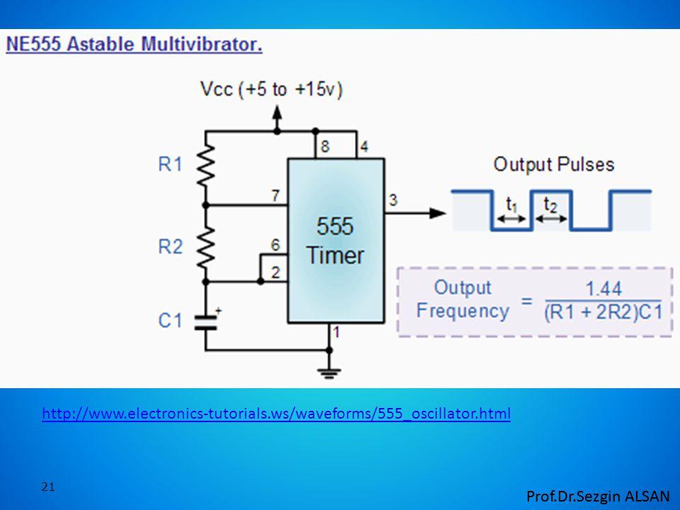 21 http://www.electronics-tutorials.ws/waveforms/555_oscillator.html