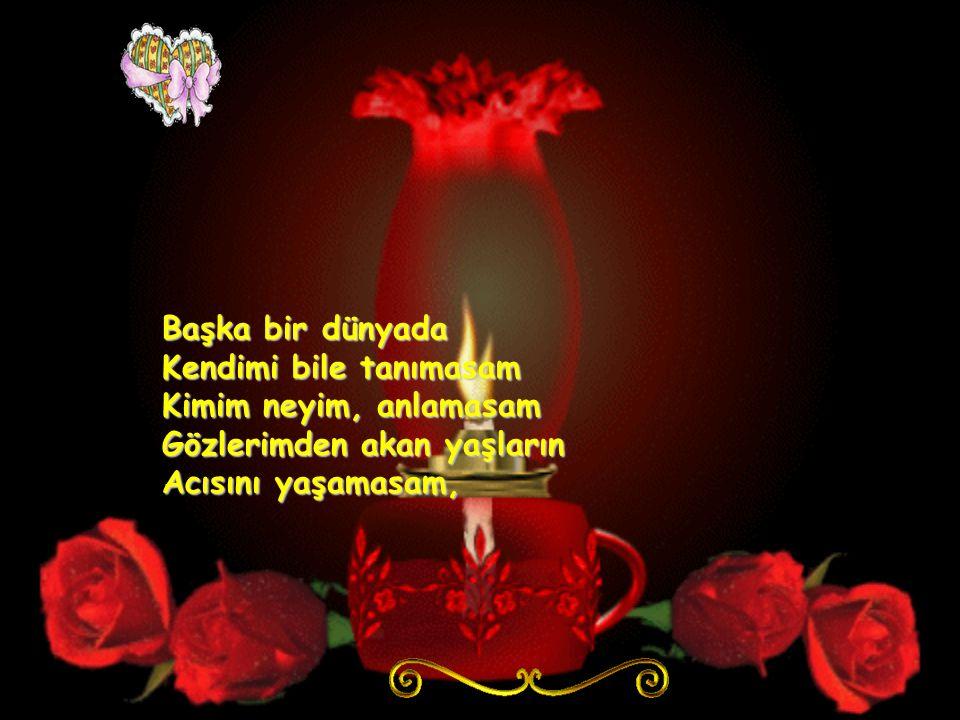 Şöyle bağıra bağıra Sadi Hoşses'ten Sabret gönülü söylesem Hasret neymis bilmeden Tüm sevda türküleri Bu gece benim olsa Güne seni düşünmeden Uyansam