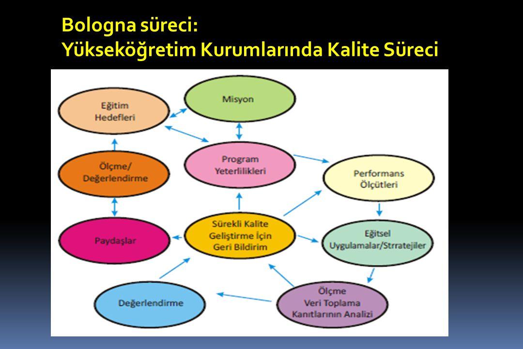 Bologna süreci: Yükseköğretim Kurumlarında Kalite Süreci