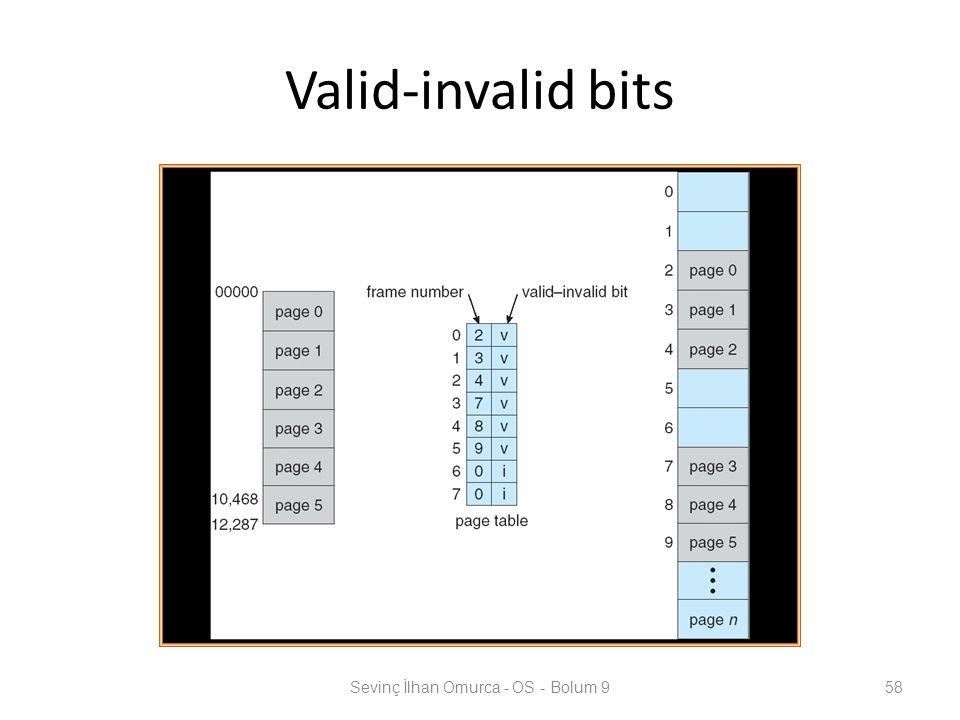 Valid-invalid bits Sevinç İlhan Omurca - OS - Bolum 958