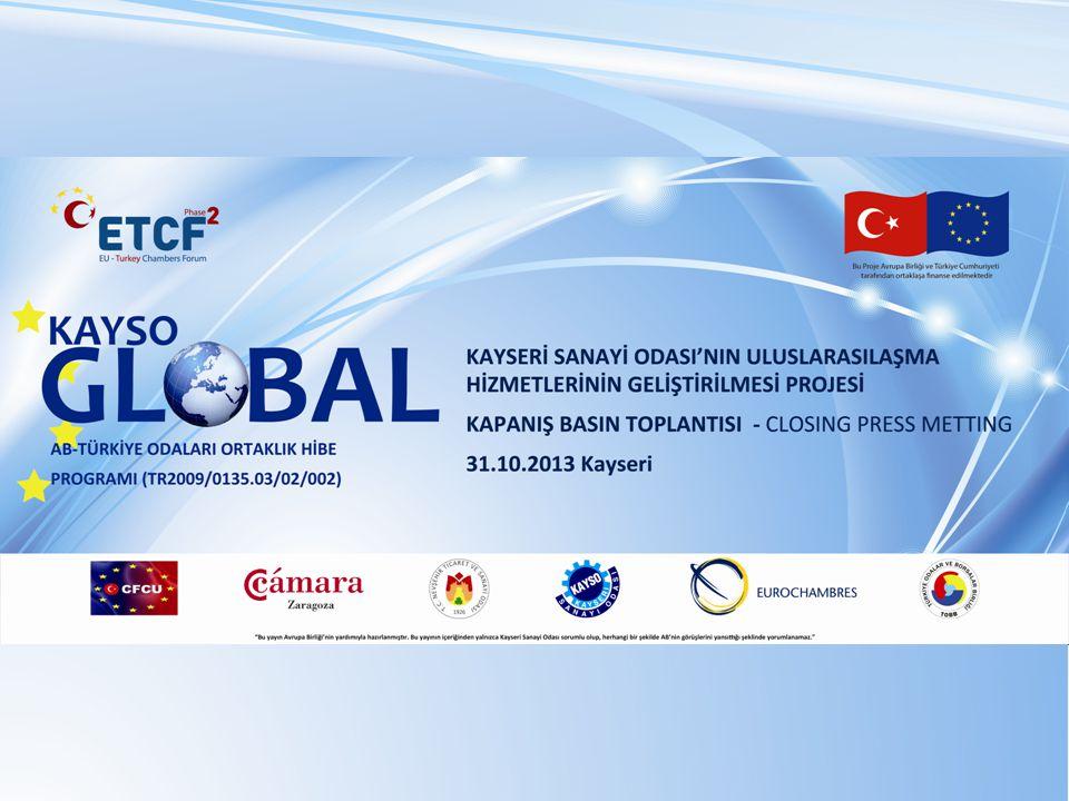 Bu Proje Avrupa Birliği ve T ü rkiye Cumhuriyeti tarafından ortaklaşa finanse edilmektedir CIVIL SOCIETY DIALOGUE EU – TURKEY CHAMBERS PARTNERSHIP GRANT PROGRAM To improve the capacity of Turkish Chambers and Commodity Exchanges Help of Chambers for to strengthen Turkey s role in EU accession process