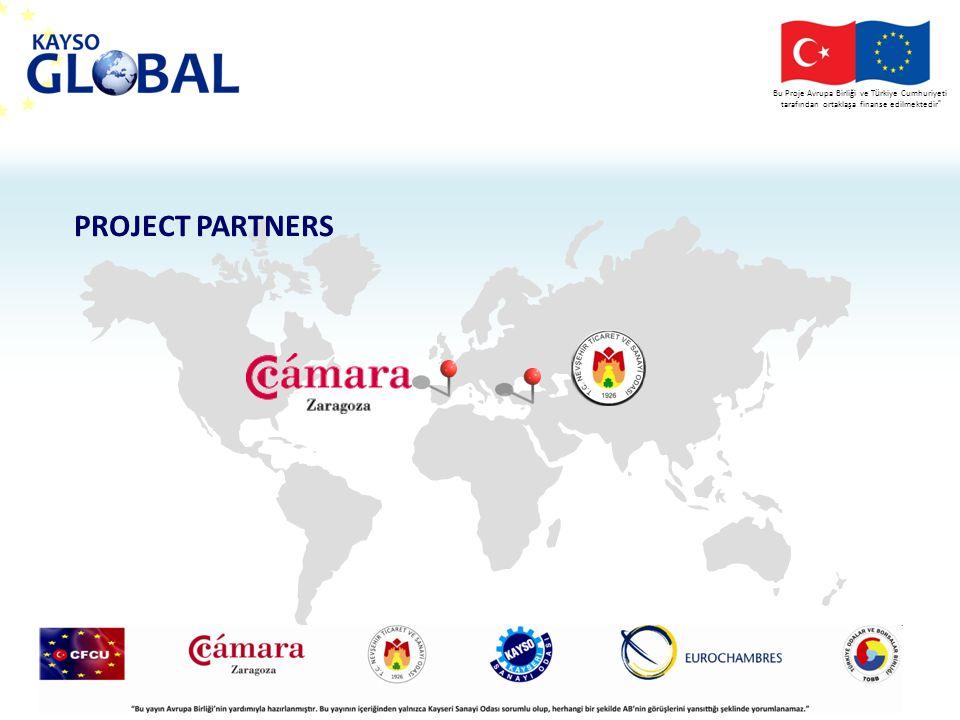 Bu Proje Avrupa Birliği ve T ü rkiye Cumhuriyeti tarafından ortaklaşa finanse edilmektedir PROJECT BUDGET 96.573 11.510 108.383 Contribution of EU and Republic of Turkey Contribution of Kayseri Chamber of Industry Project Budget PROJE SÜRESİ: 12 ay