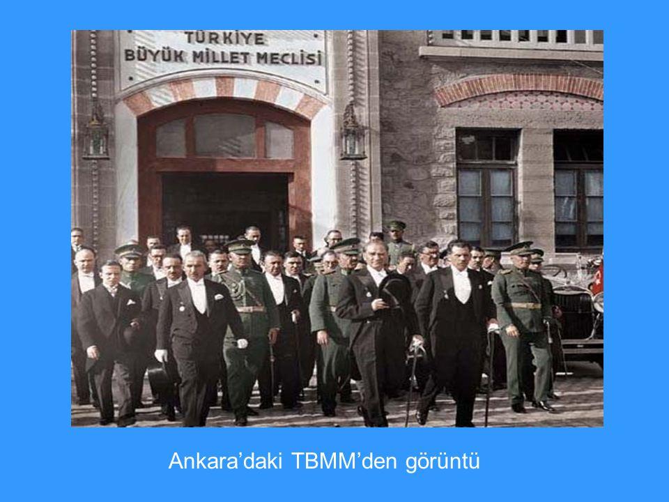 Ankara'daki TBMM'den görüntü