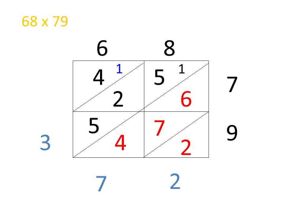 5 6 4 2 7 2 5 4 2 7 3 1 6 8 7 9 1 68 x 79