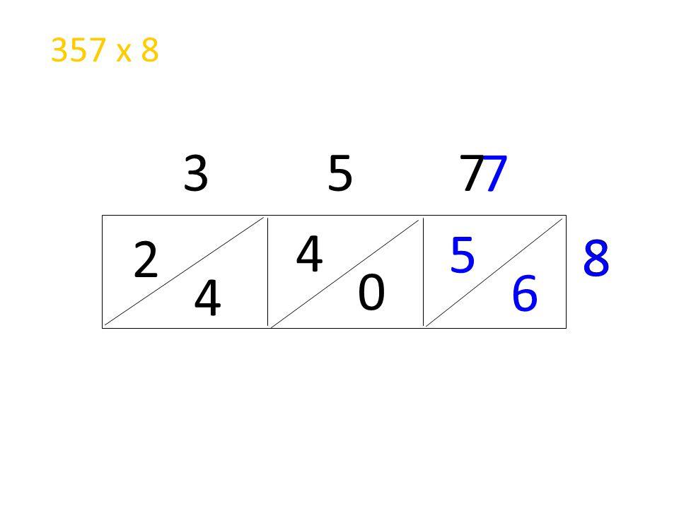 2 4 3 5 7 8 7 8 4 0 5 6 357 x 8
